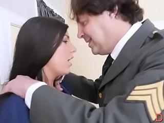 Astonishing young lady Athena Rayne blows and fucks