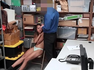 Latina with nice ass used by a cop because of felony