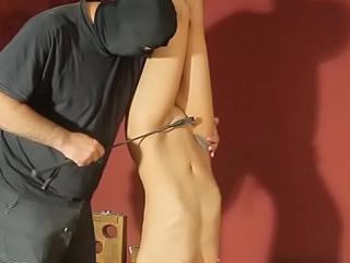 Luna suspended upsidedown and tortured