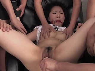 Sweet Ai Mizushima is getting stuffed with a huge dildo