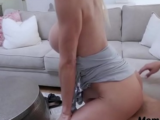 MOM fucks my friend amd its caught in cam- Alexis Fawx