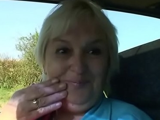 Very old blonde granny sex