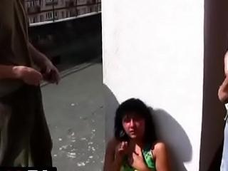 Polskie porno - 18 urodziny na dachu wieżowca