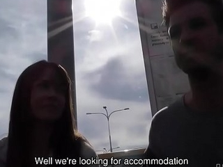 HUNT4K. Babe gains money for accommodation with her mouth and cunny