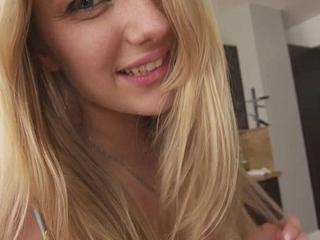 Selfish legal age teenager snatch pulsing involving creep