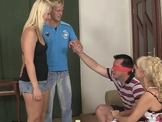 Old couple involves his peaches girlfriend earn unobtrusive copulation