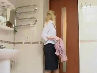 Tight Lawful ripen teenager Bathroom Surprise
